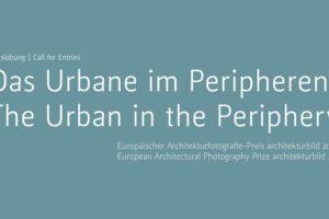 Motto Europäischer Architekturfotografie-Preis »architekturbild 2021