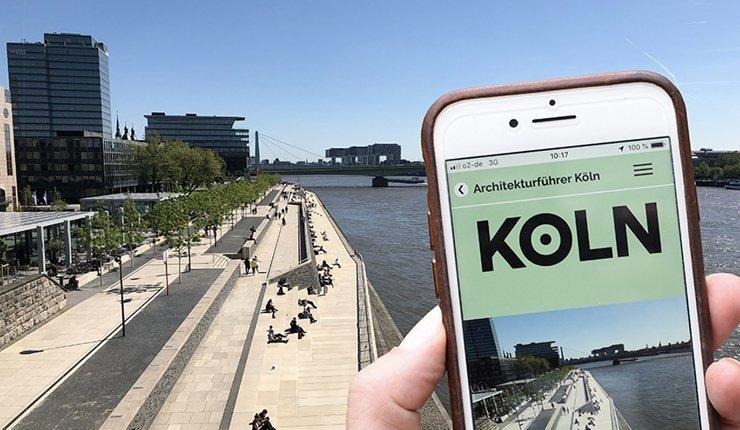 Im Online-Architekturführer Köln sind bislang 88 Projekte zu finden, sortiert nach Architekten, Kategorien oder Stadtteilen. Bild: koelnarchitektur.de