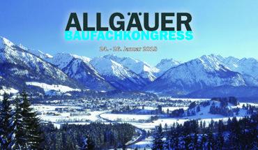 Der Allgäuer Baufachkongress findet vom 24. bis 26. Januar 2018 in Oberstdorf (Allgäu) statt. Bild: Baumit