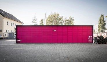 BUGA 2019 in Heilbronn: Mit der myRENZbox können die Bewohner des Neckarbogens zukünftig Pakete von allen Paketdienstleistern empfangen und auch versenden. Bild: Erwin Renz Metallwarenfabrik