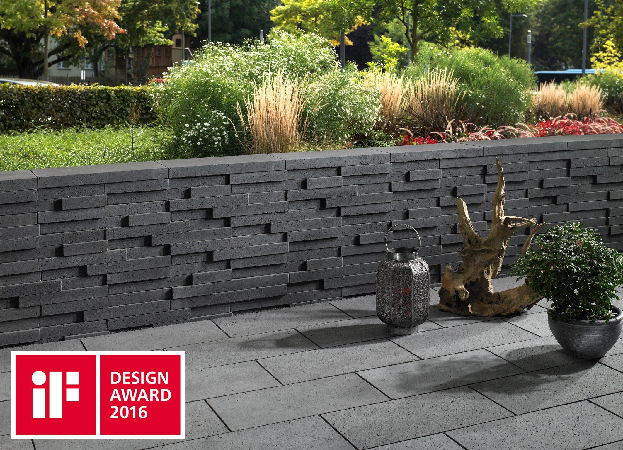 if design award ausgezeichnete mauer. Black Bedroom Furniture Sets. Home Design Ideas