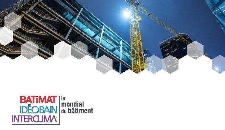 """Vom 4. bis 8. November 2019 findet in Paris die Baumesse """"Mondial du Bâtiment"""" mit dem weltweit umfangreichsten Angebot an Lösungen und Innovationen für das Bauwesen statt."""