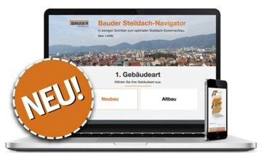 Bauder Steildach-Navigator. Bild: Bauder