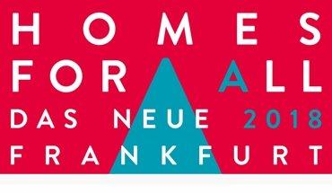 """Bezahlbarer Wohnraum - das ist das Ziel des Architekturpreises """"Wohnen für alle - Neues Frankfurt 2018""""."""