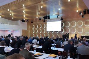 Am 14. Februar 2019 fand zum sechsten Mal der Stuttgarter Bausachverständigentag statt, zentrale Jahresveranstaltung für Bausachverständige. Bild: Eva Berggötz