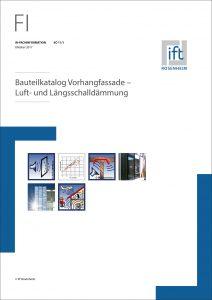 Bauteilkatalog Vorhangfassade des ift Rosenheim. Bild: ift Rosenheim
