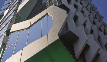 Bauen mit Beton: Das 41X Building von Lyons Architects in Melbourne ist Leitmotiv der 62. BetonTage. Bild: Lyons Architects / FBF Betondienst