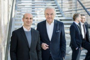 Lucio Blandini und Werner Sobek. Bild: René Müller
