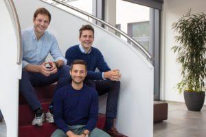 Die Gründer des Startups Building Radar, das zum Ziel hat, die Bauwirtschaft zu digitalisieren