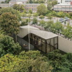 Carbonbeton-Gebäude Cube in Dresden