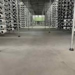 Bodensanierung eines Industriebodens mit Carbonbeton