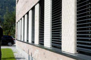 Betonbauteile für die Fassade aus dem 3D-Drucker.