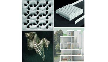 Vier Gewinner gibt es beim Concrete Design Competition 2017/18. Bild: BetonBild