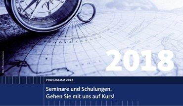 Seminarprogramm 2018 von Gretsch-Unitas. Bild: Gretsch-Unitas