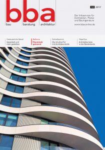 Bba Bau Beratung Architektur Neue Ausgabe Der Fachzeitschrift