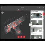 Die Leica Cyclone FIELD 360 Laserscanning App funktioniert mit dem Leica BLK360 Laserscanner.