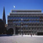 Bremer Landesbank, heute Tochterunternehmen der Nord LB, Bremen. Caruso St John Architects. Bild: Hélène Binet