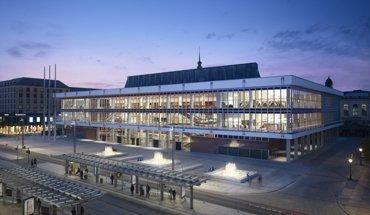 Der DAM-Preis 2019 geht an gmp – Architekten von Gerkan, Marg und Partner für den umgebauten und modernisierten Kulturpalast Dresden. Christian Gahl / gmp Architekten