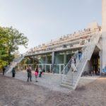 BRANDLHUBER + EMDE, BURLON Terrassenhaus / Lobeblock. Bild: David von Becker