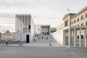 Neubau der James-Simon-Galerie in Berlin von David Chipperfield Architects ist Preisträger des DAM Preises 2020