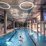 Schwimmbad im Werk12 in München