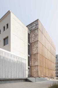 Fassade der Hochschule für Schauspielkunst Ernst Busch, Berlin