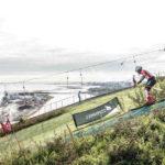 Dach-Begrünung und Skifahrer in Kopenhagen