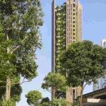 Fassaden-Begrünung am Eden in Singapur