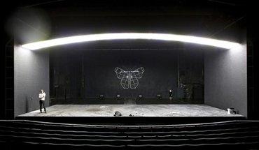 """Unter dem Titel """"Große Oper – viel Theater?"""" stellt das DAM in Frankfurt ab 24. März 2018 europäische Bühnenbauten vor.Schauspiel Frankfurt. Bild: Birgit Hupfeld"""