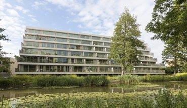 Klencke - Terras op Zuid, Amsterdam (NL). Wettbewerbsbeitrag Wohnen für alle. Bild: Marcel van der Burg