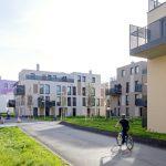 ARGE schneider + schumacher Architekten ZT GmbH, Frankfurt Main (DE)/ projektbau planung baumanagement bauleitung gmbh, Wien (AT). Wohnhausanlage Podhagskygasse, Wien (AT). Bild: Jörg Hempel