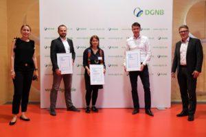 Gewinner der DGNB Sustainability Challenge 2020