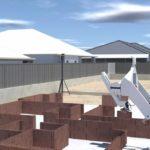 Der Bauroboter Hadrian X ist für die Arbeit im Freien optimiert und kann Wohnbauten vollautomatisiert errichten. Bild: Wienerberger