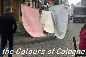 Das von der Künstlerin Kirsten Lampert und dem Kölner Architekturbüro O&O Baukunst entwickelte Farbkonzept für die Kölner Parkstadt Süd wird mit dem Iconic Award ausgezeichnet. Bild: O&O Baukunst