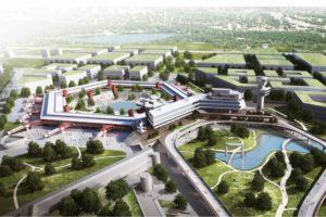 Flughafen Tegel mit neuem Wohnquartier - Online-Exkursion mit Brillux.