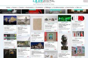 Online-Plattform bpar.DIGITAL für Kunstausstellungen