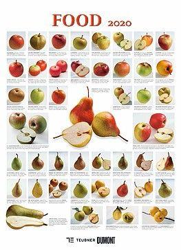 """Wandkalender """"Food"""" 2020. Größe: 49,5 cm breit x 68,5 cm hoch. Dumont Kalender. 30,- Euro. ISBN: 9783832044688. Bild: Dumont"""