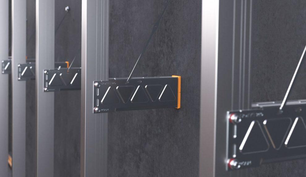 Edelstahl-Unterkonstruktion für vorgehängte hinterlüftete Fassaden