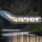 Museumsneubau »The Twist« in Norwegen von Bjarke Ingels Group. Bild: ERCO GmbH, www.erco.com / Tomasz Majewski