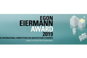 Der Egon Eiermann Award wird 2019 erstmals international ausgelobt.