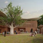 Außenansicht des Goethe-Instituts Senegal, Kéré Architecture
