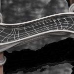 Die weltweit erste komplett 3D-gedruckte Brücke aus Edelstahl entstand in den Werkshallen von MX3D in Amsterdam. Bild: Joris Laarman Lab