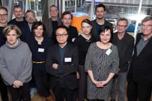 Gruppenfoto der ersten Sitzung des Kuratoriums der Internationalen Bauausstellung 2027 StadtRegion Stuttgart. Bild: IBA'27 / Franziska Kraufmann