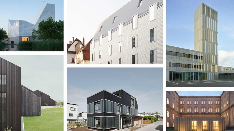 Die nominierten Gebäude für den Deutschen Fassaden-Preis 2020 für vorgehängte hinterlüftete Fassaden