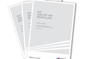 Cover Leitlinie zur Beurteilungsmethodik und Toleranzen von Vorgehängten Hinterlüfteten Fassaden