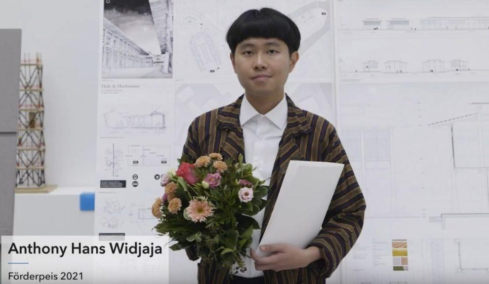 Anthony Hans Widjaja, einer der Preisträger beim diesjährigen »Förderpreis 21« der Stiftung Deutscher Architekten