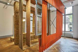 Fassaden-Mock-up als Beispiel für Kreislaufwirtschaft