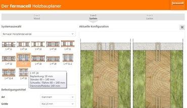 Neuer digitaler Holzbauplaner von Fermacell. Bild: Fermacell