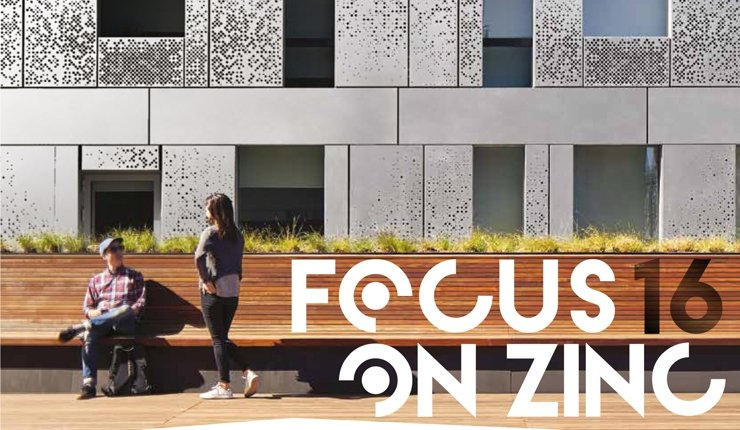 "Architekturmagazin ""Focus on Zinc"""