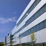 Projekt: Folkwang Universität der Künste, Fachbereich Gestaltung, Essen | Architektur: MGF Architekten GmbH, Stuttgart. Bild: Friedhelm Krischer, Duisburg